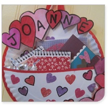 Idea for valentine holder- i made these with my kids one time in aftercare they loved it