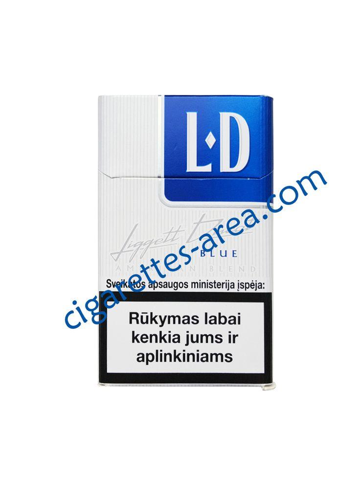 LD Blue cigarettes