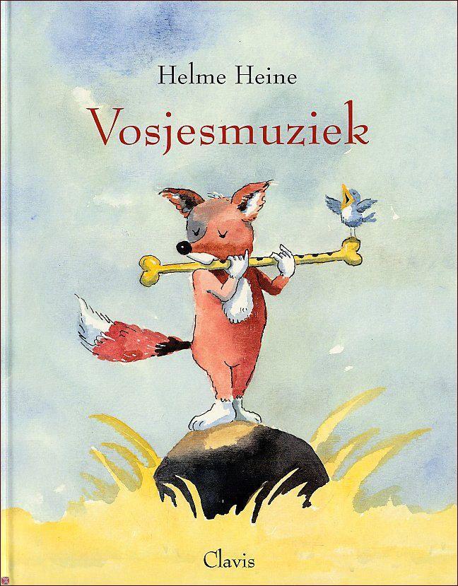 Helme Heine - Vosjesmuziek, een van mijn favoriete kinderboeken - inhoudelijk mooi en prachtig geïllustreerd