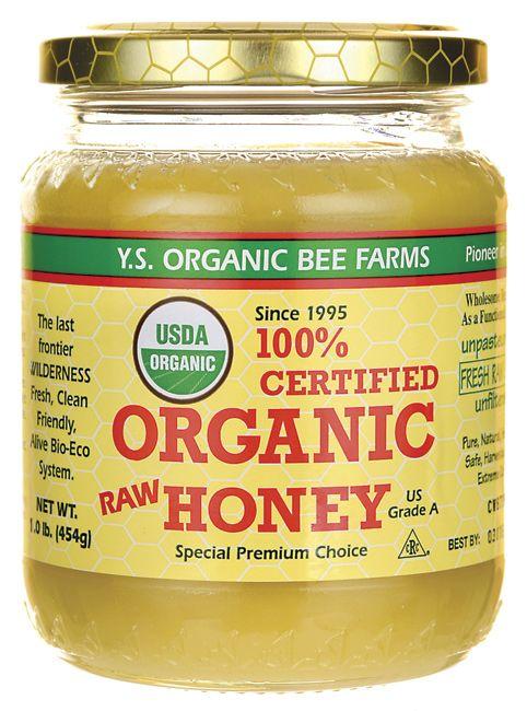Y.S. Eco Bee Farm 100% Certified Organic Raw Honey