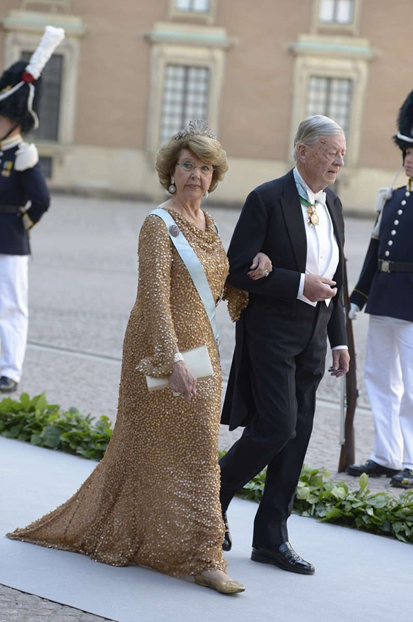 Swedish Royal Wedding: The Bride's Extended Family..Posted on June 8, 2013 by HatQueen..Princess Désirée, Baroness Silfverschiöld.