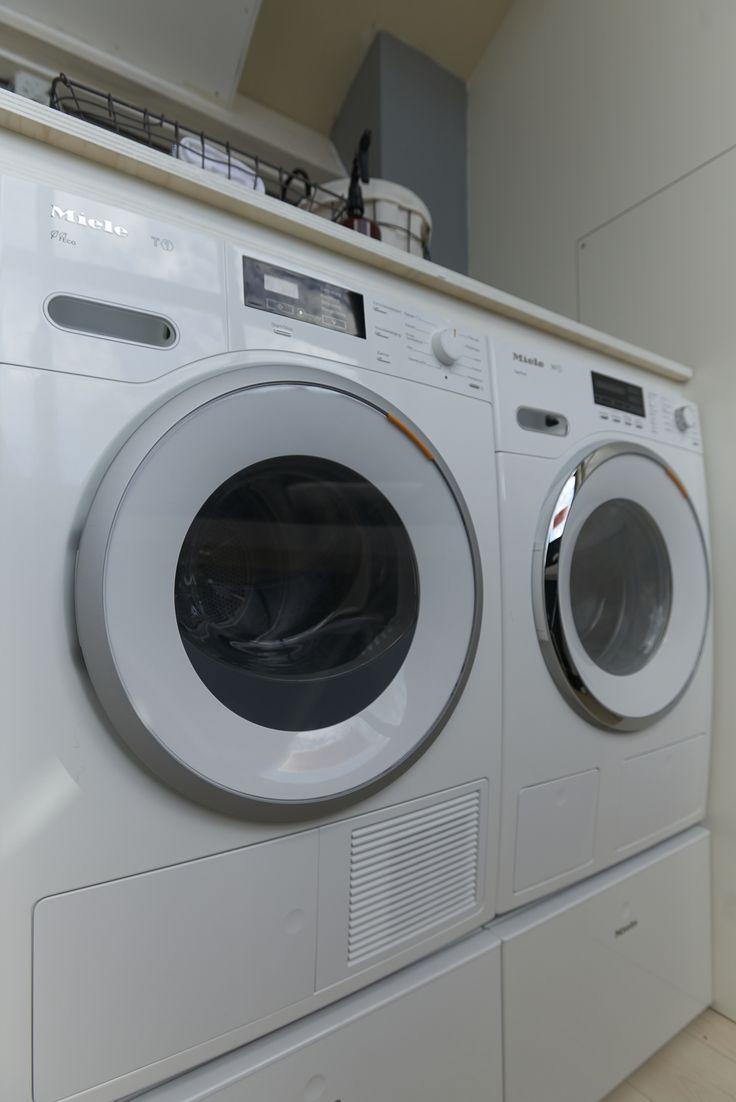 Lade onder wasmachine en droger