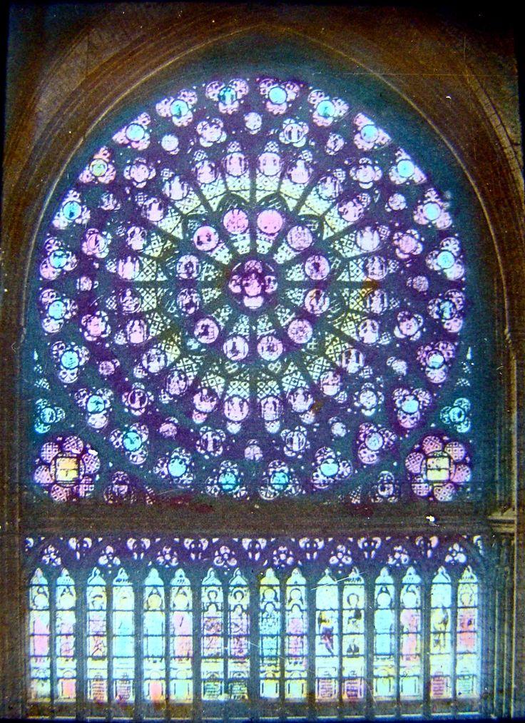 Sainte Chapelle stained glass - Paris