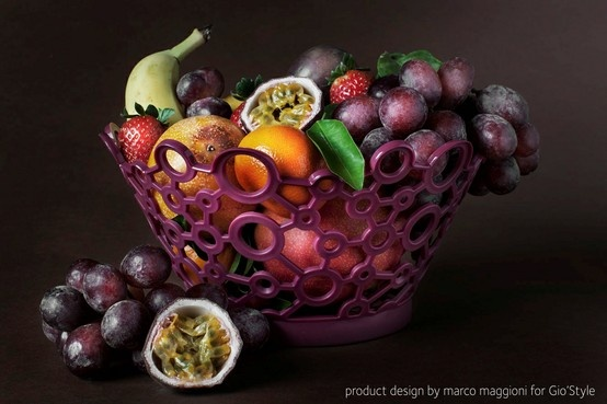 Fruits basket -  ForMe - part of a collection designed by Marco Maggioni for  www.giostyle.com
