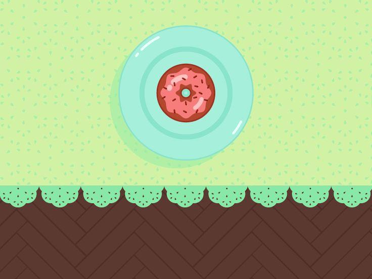 I want them all! Eat them all! #FAT #THURSDAY #FatThursday #doughnuts #sweetsjam #sweet #gif #cute #animationb2b