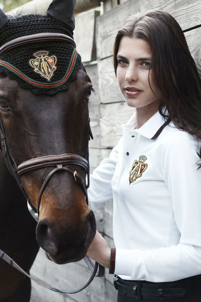 Charlotte Casiraghi, fourth in line to the throne of Monaco. Granddaughter of Grace Kelly