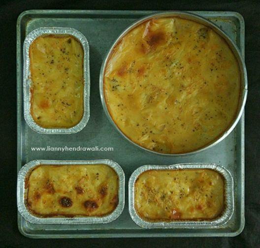 Cheesy macaroni schotel