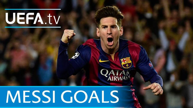 Lionel Messi's first 80 European goals