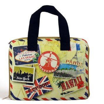 Miamica Vintage Print iPad Carrying Case