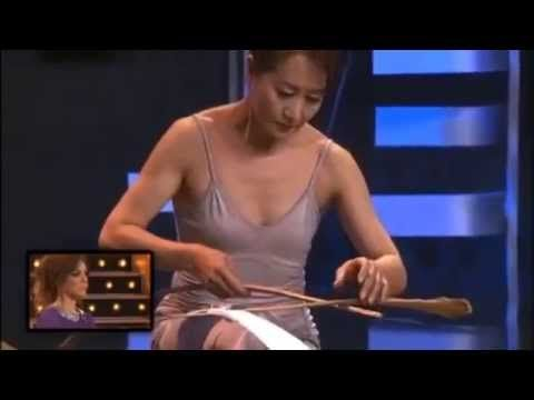 The Power of Concentration & Balance - Woman with Feather - under Armenian Music - YouTube