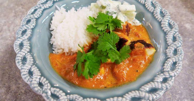 Gör en vegetarisk variant av den indiska klassikern tikka masala! Servera med ris, myntayoghurt och cashewnötter.