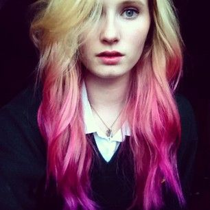 Magenta ombre: | 29 Creative And Colorful Hair Trends To Try This Summer