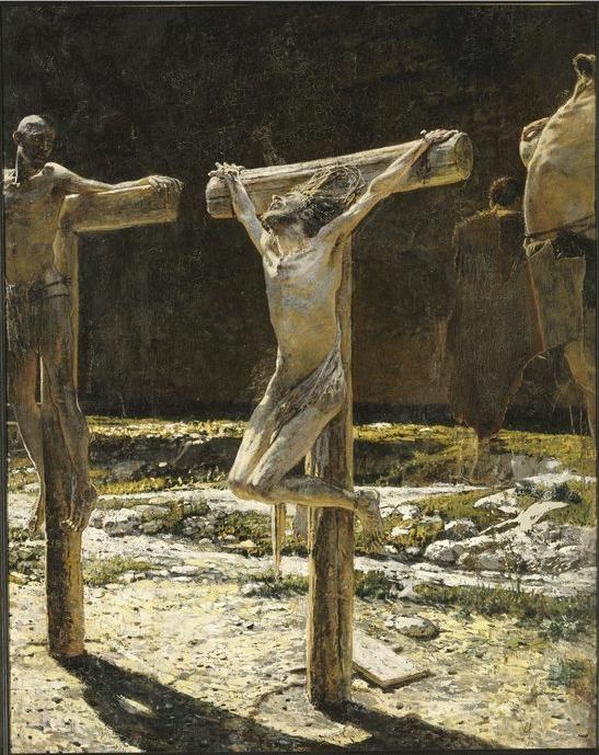 Calvário, 1892, Nikolai Ge (1831-1894)