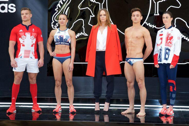 Adidas Team Great Britain 2016 Olympic Uniforms