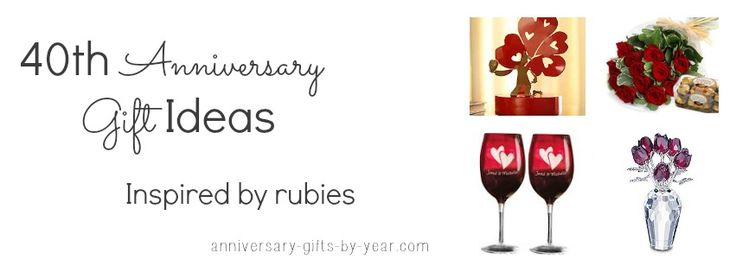 Traditional 40th Wedding Anniversary Gifts: 54 Best 40th Anniversary Gift Ideas Images On Pinterest