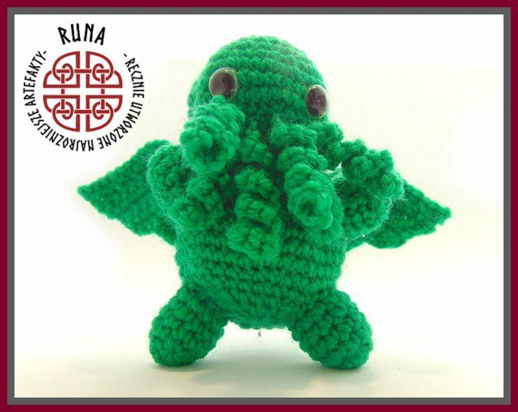 crochet little Cthulhu