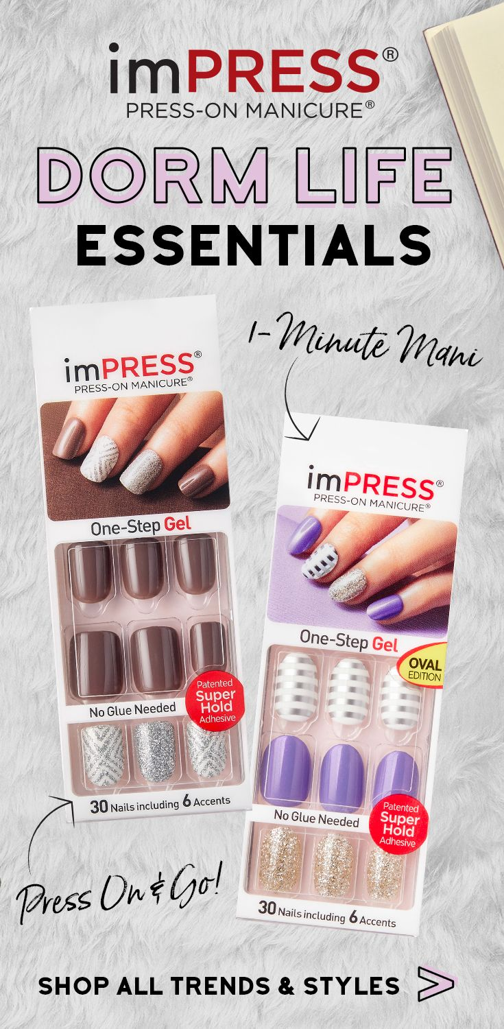 Impressmanicure Is A Back To School Must Have Manicure Gelmanicure Impress Manicure Gel Manicure Nail Accessories