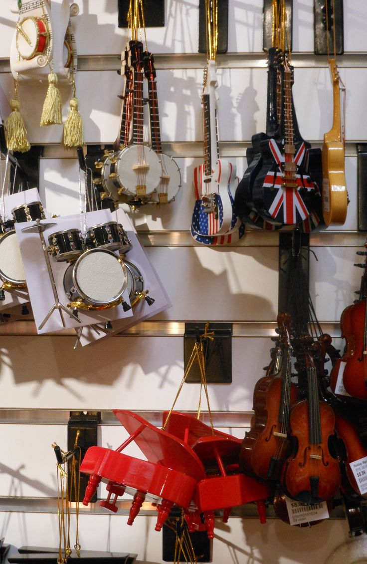 Musical instruments ornaments - Musical Instrument Ornaments