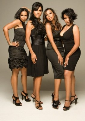 En Vogue, female R+B vocal group, comprised of original members Cindy Herron, Maxine Jones, Dawn Robinson and Terry Ellis. They have won more MTV Video Music Awards than any other female group in MTV history, a total of 7, along with 4 Soul Train Awards, 6 American Music Awards, and 7 Grammy nominations. They are considered one of the most popular and successful female groups of all time. A true class act.