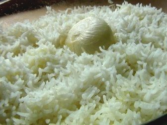 rýže v troubě