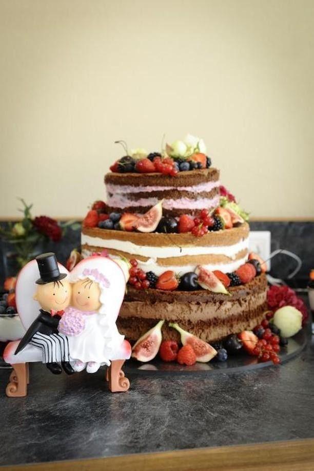 Les nudes cakes, ces gâteaux plus authentiques et pas