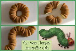 Der sehr hungrige Caterpillar-Kuchen #Geburtstagskuchen #Hühnertorten #Jeder hungrige …   – Raupe nimmersatt