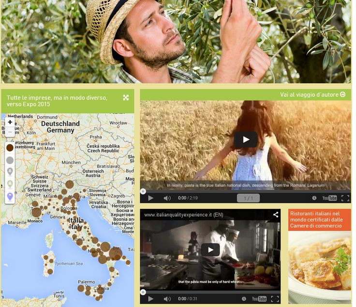 Homepage italianqualityexperience.it - Naviga e scopri le aziende italiane dellì'agroalimentare, i siti italiani Patrimonio Unesco, i siti di rilevanza storico-artistico-culturale, la bellezza e la ricchezza del nostro Paese!