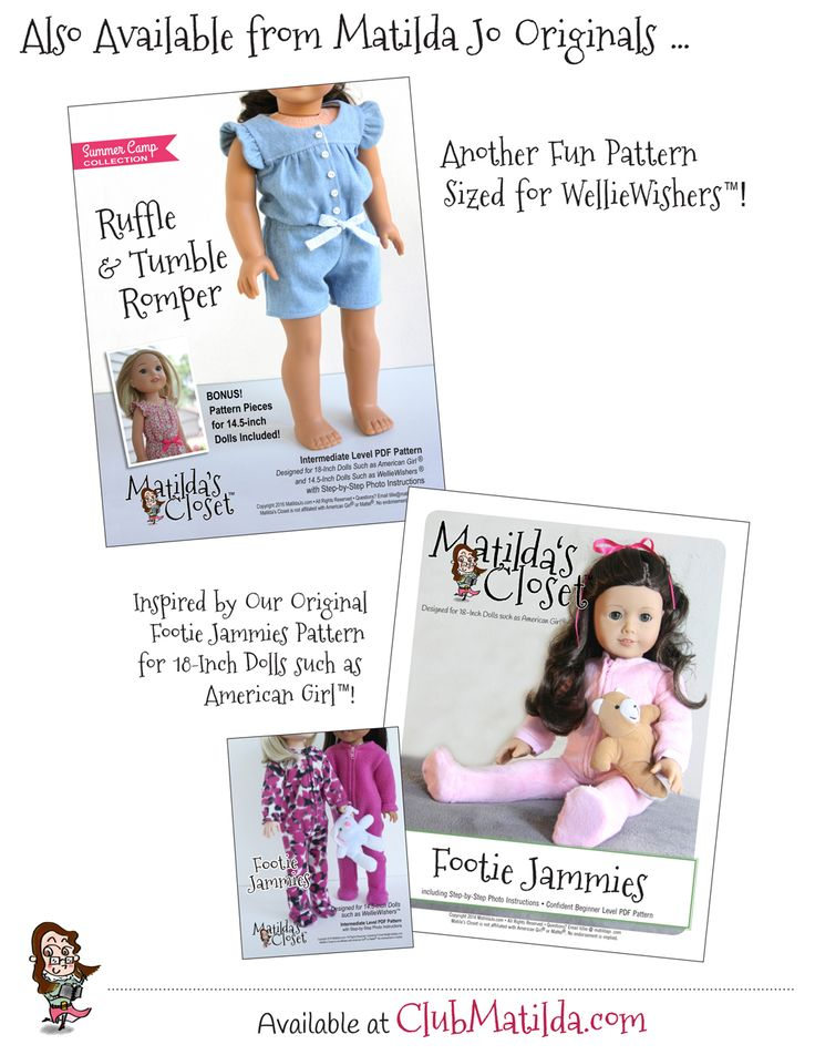 how to make dolls clothes pattern for sewing