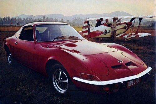 1973 Opel GT 1900