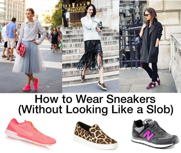 {the sparkly life} how to wear sneakers without looking like a slob