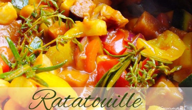 Ratatouille, een heerlijk ratatouille recept, makkelijk en vers | Kooktijdschrift.nl
