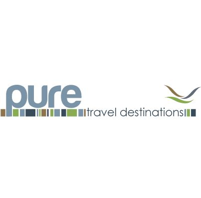 Pure Travel | Luna Graphic & Web Design - travel logo