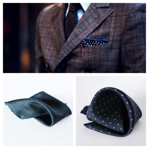 #mdgraphy #pocketsquare #handkerchief #polkadot #gentleman #finaest