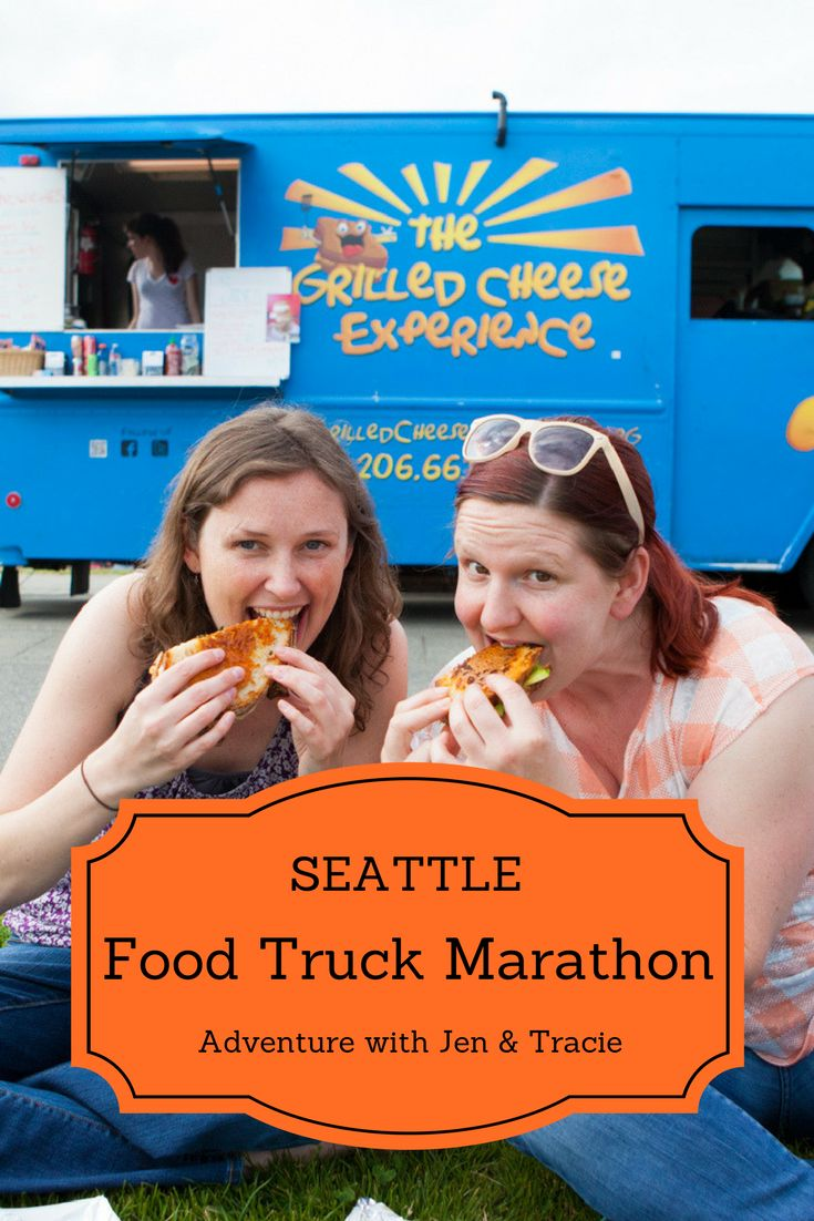 Seattle Food Truck Marathon - A day of mobile feasting with Jen & Tracie >>> Join Jen and Tracie as they spend an entire day eating at Seattle's best food trucks! You'll definitely want to check out this one!