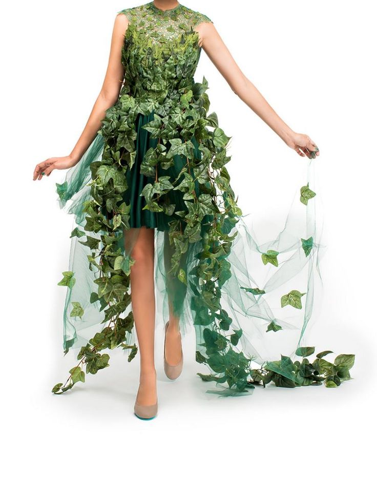 diy monarch halloween costume is ultra chic - Green Halloween Dress