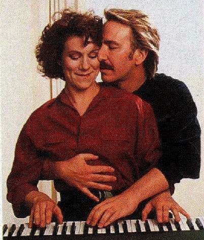 """Alan Rickman and Juliet Stevenson in """"Truly Madly Deeply"""" - more thoughtful and romantic than """"Ghost"""""""