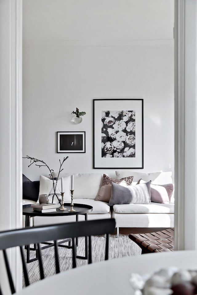 A monochrome Swedish pad with a soft touch