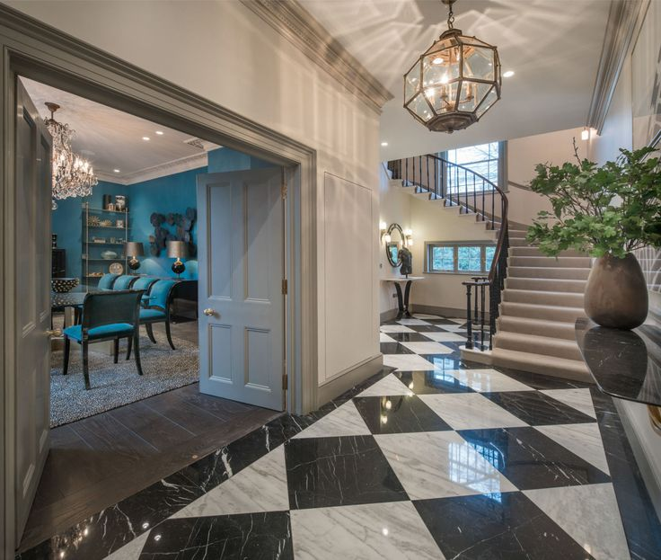 This glamorous house was designed by The Apprentice's Linda Plant