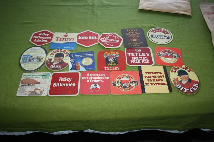 Collection of 18 Beermats  - Tetley (Leeds) (2L18) 10/14