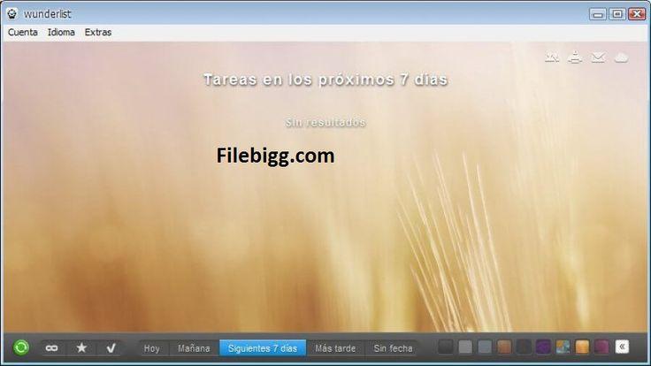 Free Download Software Wunderlist 3.11.0 - filebigg.com