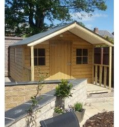 Summer Lodge Ireland- Bespoke garden lodges Ireland- Hand made lodges Ireland