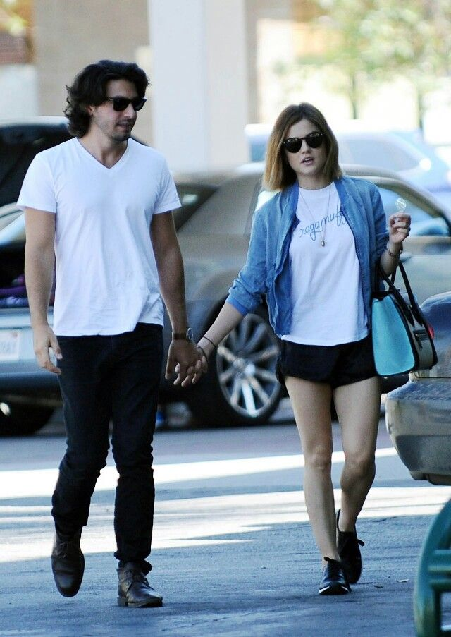 Lucy Hale Enjoys Day With Boyfriend – Out in Studio City