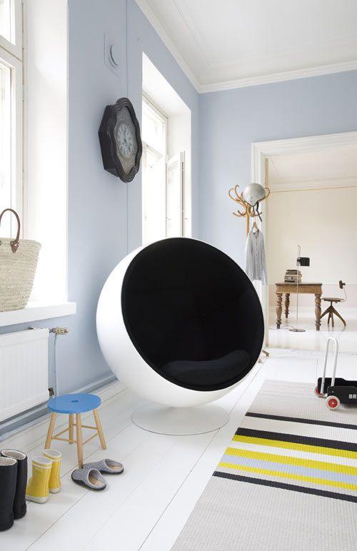 Eero Aarnio Ball Chair Giveaway from Finnish Design Shop - Design Milk