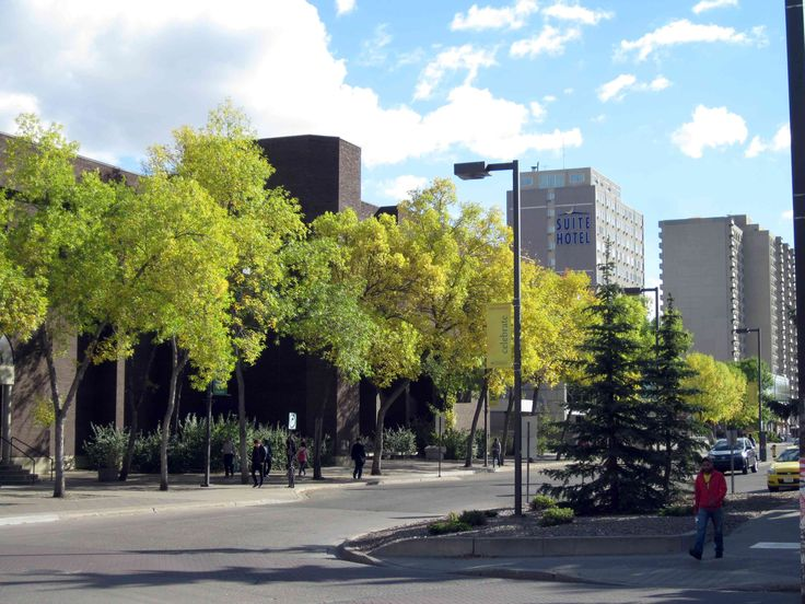 University of Alberta, Edmonton Alberta Canada. It may be the end of Summer, but it looks like it will be a beautiful Fall season!