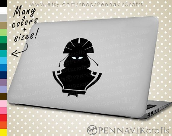 Avatar Kyoshi - Avatar the Last Airbender Decal, available in Macbook size! www.PennavirCrafts.com