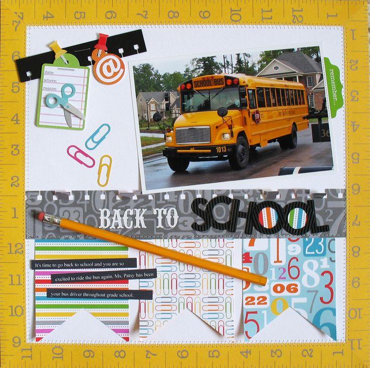 Back to School - Scrapbook.com