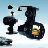 "Image of 1.5"" HD 1080P IR Car Camera DVR 12LED Night Vision Vehicle Black Recorder C600L"