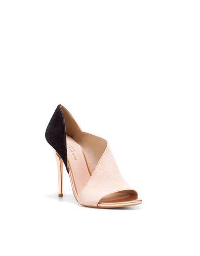 zara heel sandals: Zara Pumps