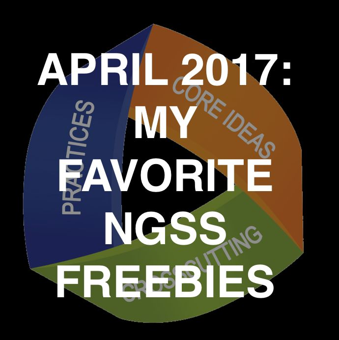 Freebies to help you implement the NGSS in your classroom #freebies #NGSS