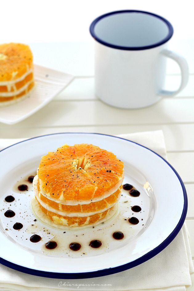 Millefoglie arance e finocchio